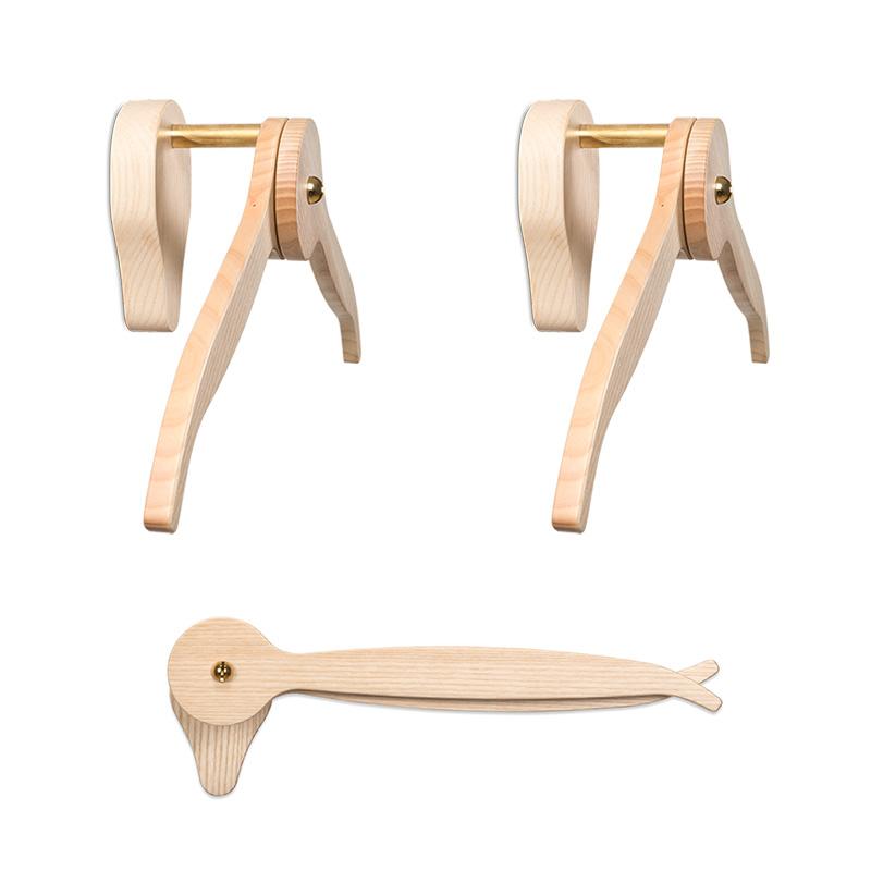 casanova nude - attaccapanni in legno - wooden hanger