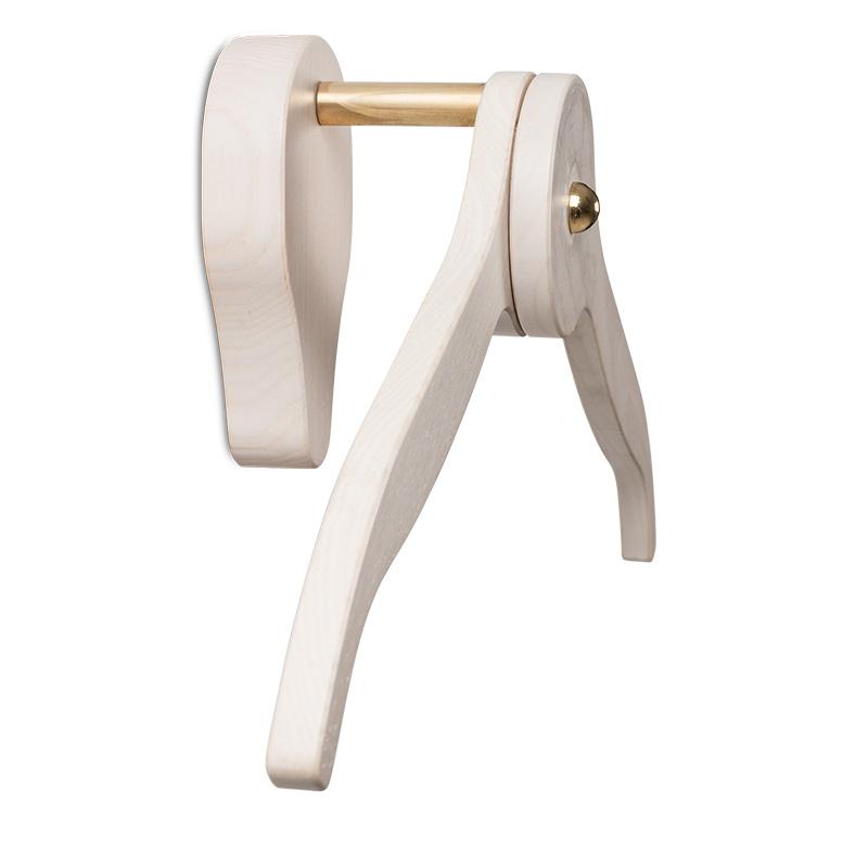 Rialto White - appendiabiti in legno bianco - wooden hanger
