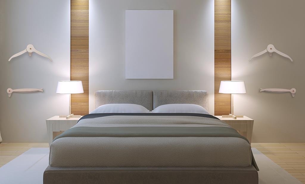 Appendiabiti per camera da letto
